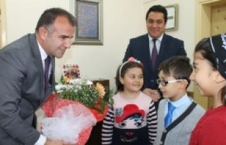 Özel Yetenekli Öğrencilerden Sultanoğlu'na Ziyaret