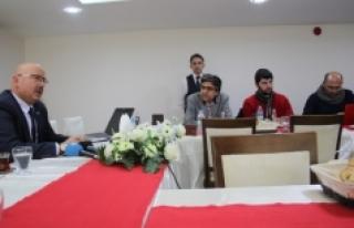 Sarıveliler Belediye Başkanı Samur, Basınla Biraraya...