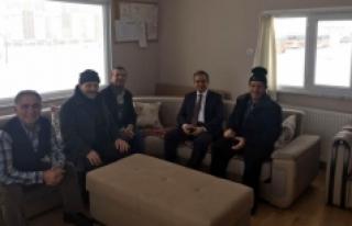 Vali Tapsız, Taksici Esnafıyla Hasbihal Etti