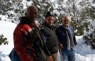 Yaylada Mahsur Kalan Çoban 6 Gün Sonra Kurtarıldı