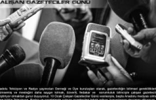 Kayaalp: Sorumluluk Bilinciyle Çalışan Gazeteciler...