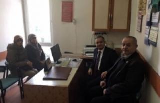 Vali Tapsız'dan Sivil Toplum Kuruluşlarına Ziyaret