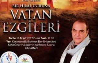 Aykut Kuşkaya İle Vatan Ezgileri Karaman'da