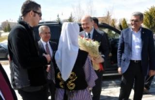 Bakan Soylu Karaman Valiliği'ni Ziyaret Etti