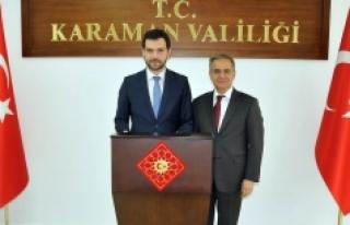 Bakan Yardımcısı Boynukalın'dan Vali Tapsız'a...