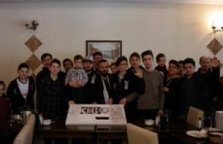 Beşiktaş'ın 114. Doğum Gününü Kutladılar