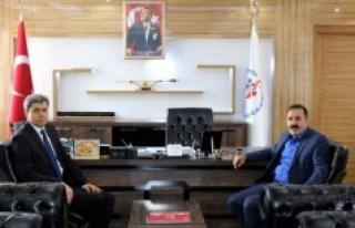 Emniyet Müdürü Tutuk'dan Kısacık'a Ziyaret