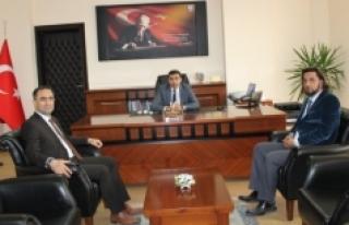 Genel Sekreter Dr. Hasan Arslan Ermenek Kaymakamını...