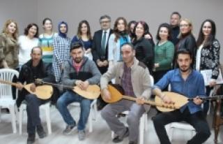 Karaman Kent Konseyi Türk Halk Müziği Korosu Çalışmalarına...