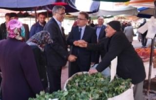 Karaman'da Esnaf, 'Evet' Diyor