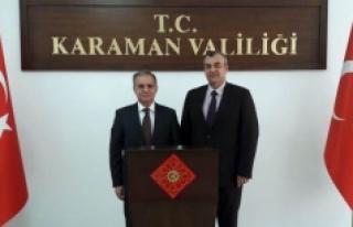 Dr. Mehmet Hakan Sağlam'dan Vali Tapsız'a Nezaket...