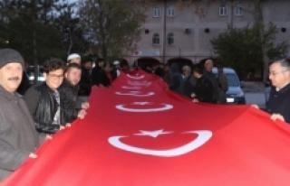 """Karaman'da """"57. Alay Çanakkale Vefa Yürüyüşü""""..."""