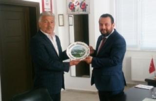 KMÜ Rektörü Akgül'den Ermenek Myo'da...
