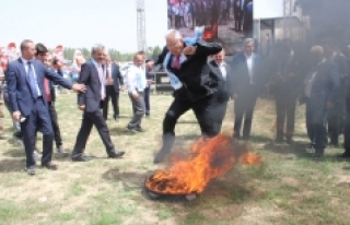 Ayrancı Hıdrellez Şenliklerinde Baykal, Ateşin...