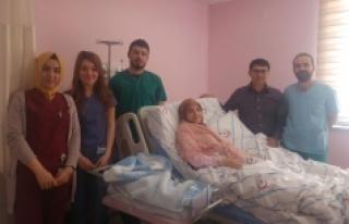 Ermenek Devlet Hastanesinde Ağrısız Doğum Uygulaması...
