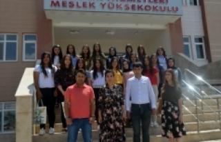 Gülnar Hatun Lisesinden KMÜ'ye Ziyaret