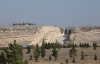 İbrala Barajı İçme Suyu Projesi'nde Çalışmalar...