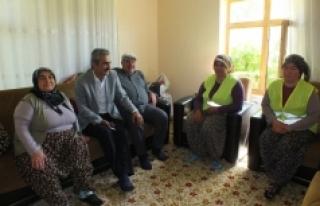 Ayrancı Belediyesi Yaşlı Ve Muhtaç Vatandaşların...
