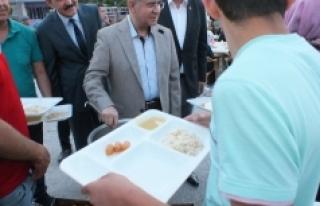 Ayrancı'daki İftara Rekor Katılım