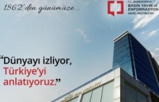 """""""Dünyayı izliyor, Türkiye'yi Anlatıyoruz"""""""