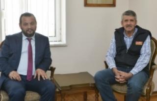 Rektör Akgül'den İhsan Duru'ya İade-i...