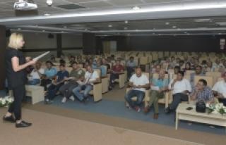 KMÜ'de Temel İş Güvenliği Eğitimi