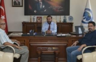Karamannâme Dergisinden Rektör Akgül'e Ziyaret