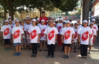 Minik Atletlere 15 Temmuz Darbesi Anlatıldı