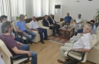 Türk Hava Kurumu Üniversitesinden Rektör Akgül'e...