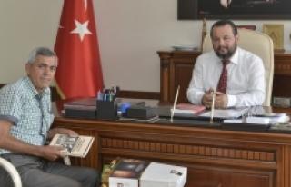 Araştırmacı Yazar Osman Ülkümen'den Rektör...
