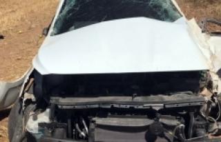 Karaman'da Tarlaya Takla Atan Otomobilin Sürücüsü...