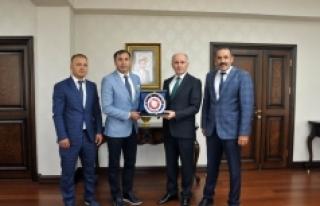 Türkiye Judo Federasyonu Başkanından Vali Meral'e...