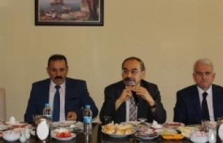 Karaman'da Okul Sporları Bilgilendirme Toplantısı...