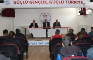 Karaman'da Antrenör Değerlendirme Toplantısı...