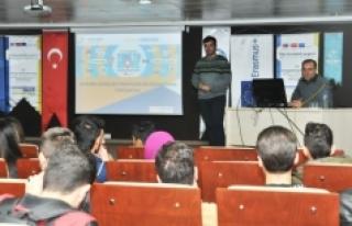 Öğrencilere MEVKA'dan Bilgilendirme Semineri