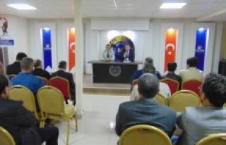 SGK İl Müdürlüğü Bilgilendirme Toplantısı...