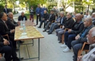 Vali Fahri Meral Sudurağı Beldesinde Vatandaşlarla...
