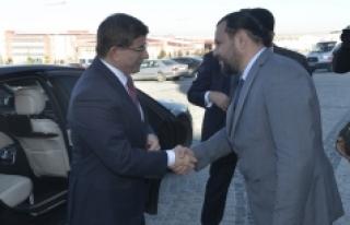 Ahmet Davutoğlu KMÜ'de Öğrencilerle Buluştu
