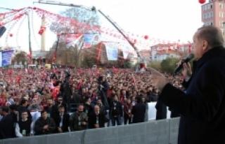 Cumhurbaşkanı Erdoğan Hızlı Trenin 2018'de,...