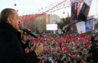 """Cumhurbaşkanı Recep Tayyip Erdoğan: """"Türkiye'nin..."""