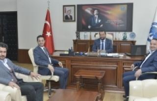 Genç MÜSİAD İl Başkanından Rektör Akgül'e...