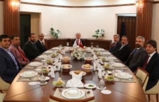 Rektör Akgül, Aksaray Üniversitesini Ziyaret Etti