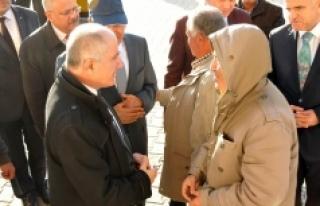 Vali Meral Akçaşehir Kasabasında Vatandaşlarla...