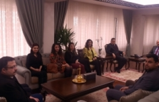 İYİ Parti Yönetiminden Vali Meral'e Ziyaret