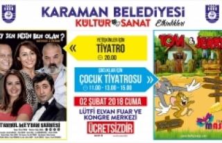 Karaman Belediyesi'nden İki Güzel Tiyatro Etkinliği...