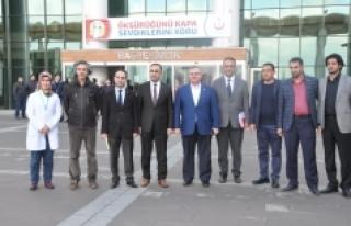Karaman Devlet Hastanesinde Doktorlarla İstişare...