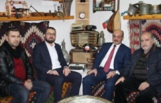 KTSO adayı Mustafa Sarı'dan KGRT'ye Ziyaret