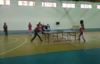 Sarıveliler'de Masa Tenisi Bayramı
