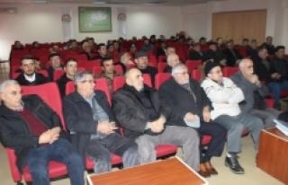 Ürün Yönetimi Ve İyi Tarım Uygulamaları Toplantısı...