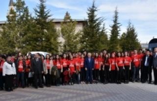 Akçaşehir Çok Programlı Anadolu Lisesinden Mehmetçiğe...